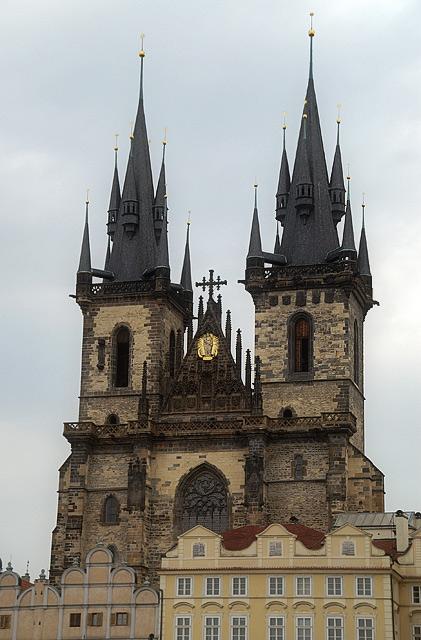 Прага. Храм Діви Марії