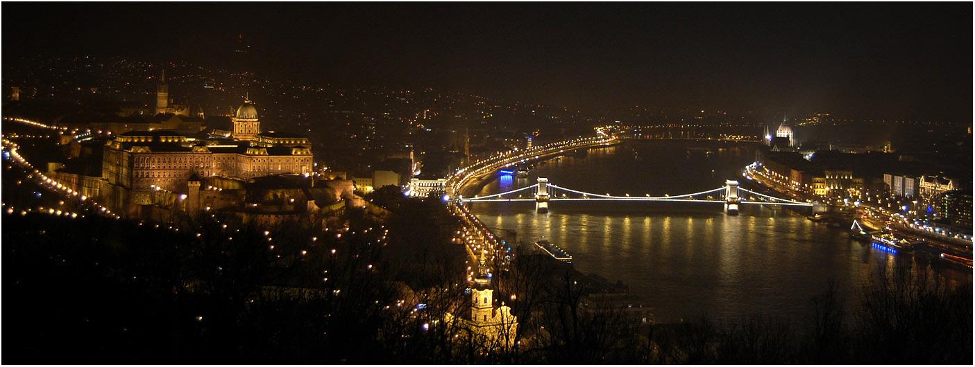 Буда і Пешт на річці Дунай
