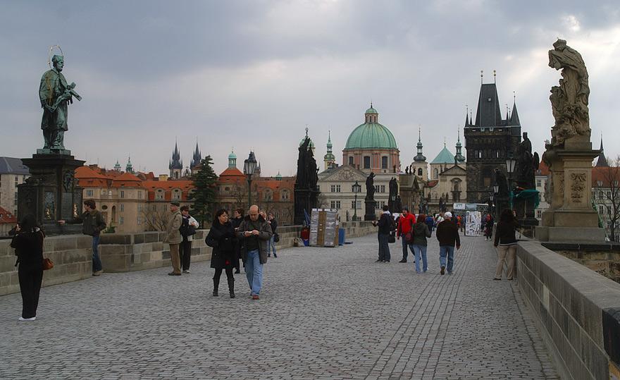 Карлов міст. Прага.