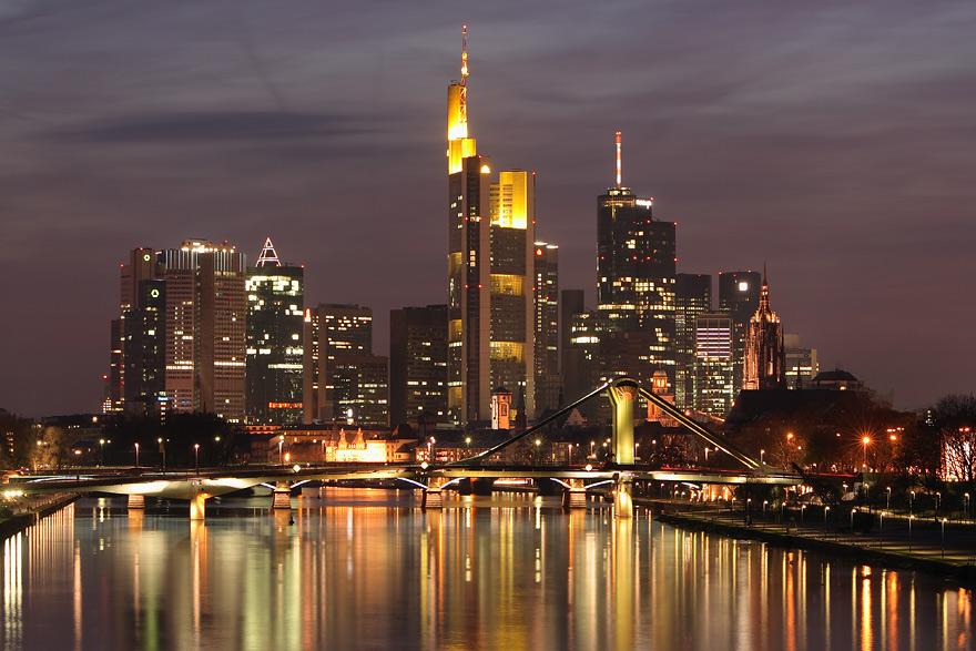 Центр міста Франкфурт-на-Майні