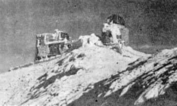 Обсерваторія взимку, 1938 рік.