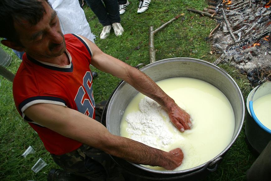 Народження сиру