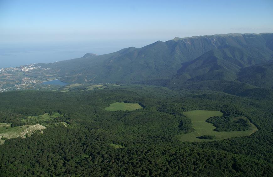 Панорама з вершини Еклізі-Бурун.