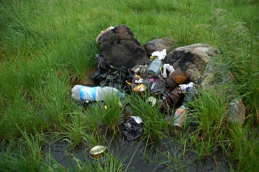 Час розкладу пластикової тари - 500 років