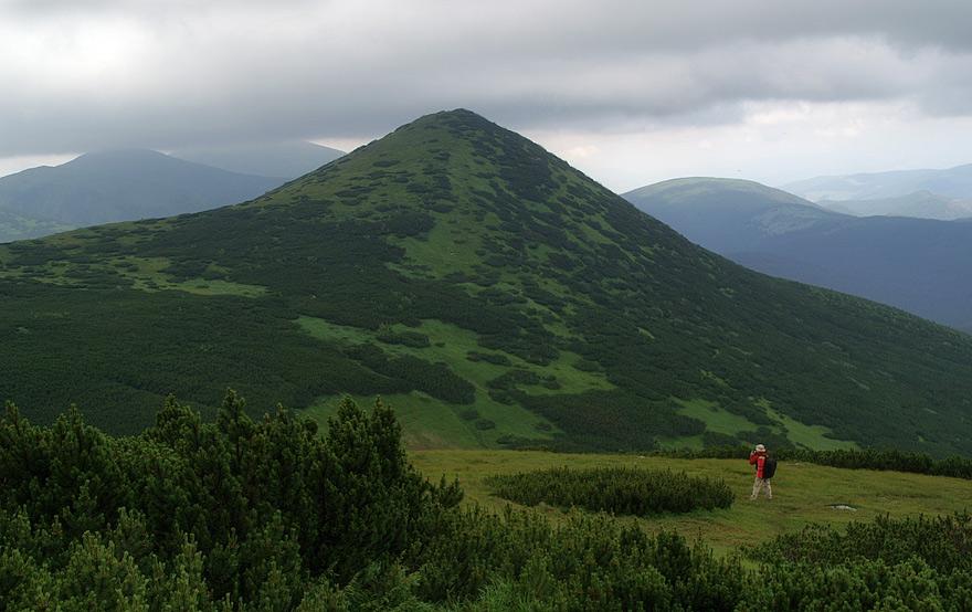 Гора Гомул - 1787 м над р.м.