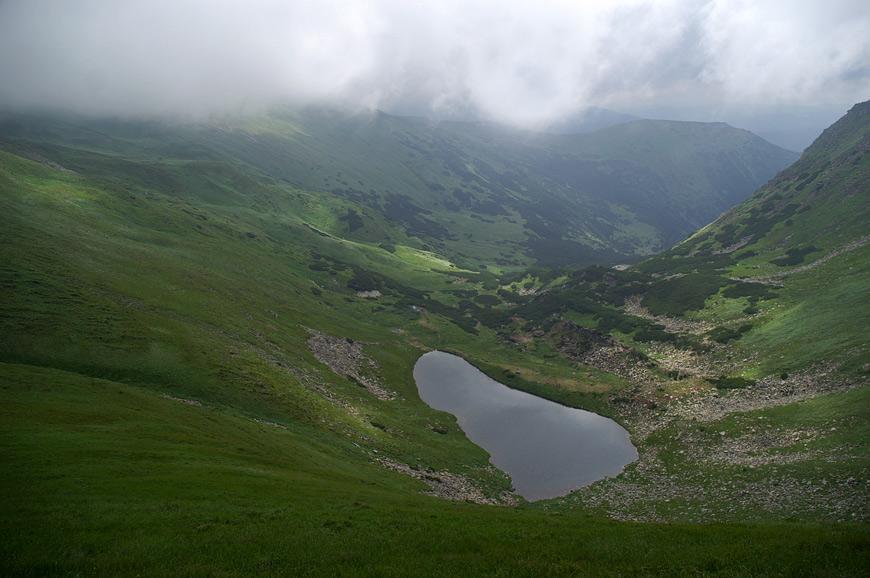 Озеро Бребенескул - 1800 м над р.м.