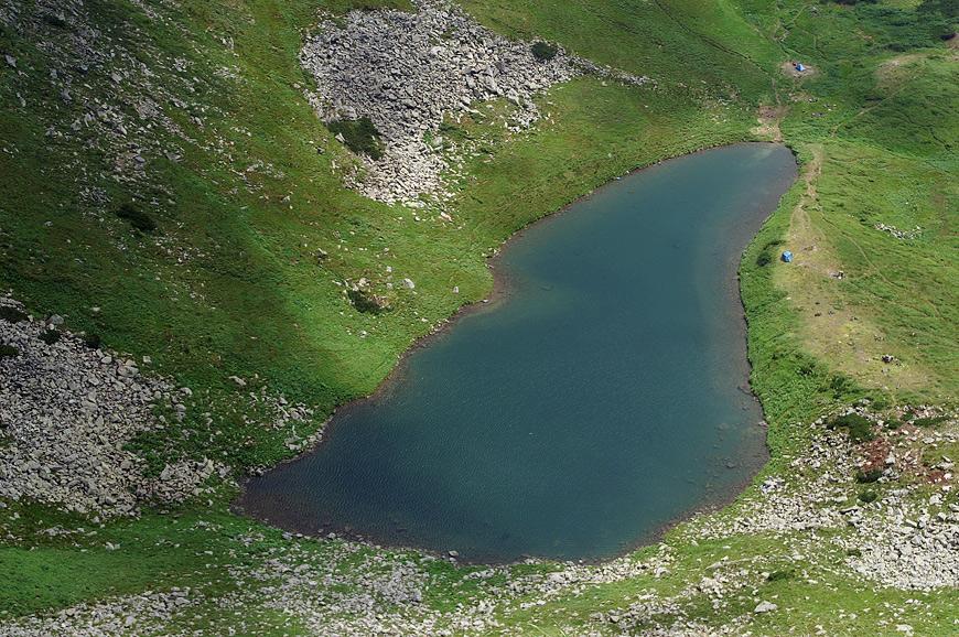 Бребенескул - озеро льодовикового походження