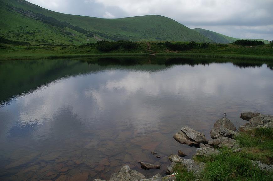 Озеро Несамовите - 1750 м над р.м.