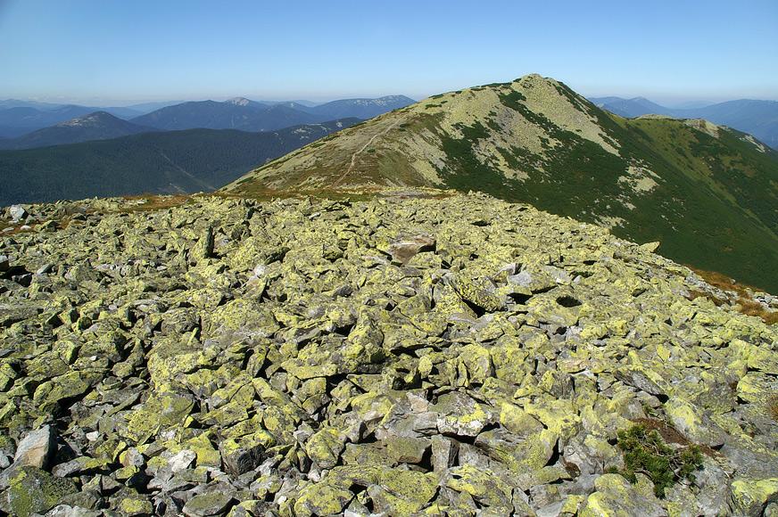 На вершині Малої Сивулі - 1818 м над р.м.