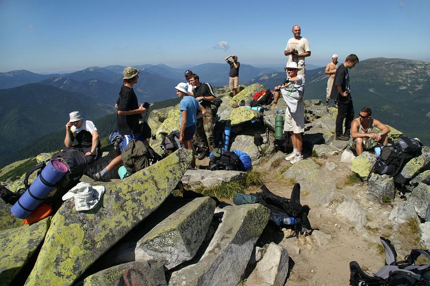 Найвища вершина Горган - Велика Сивуля - 1836 м