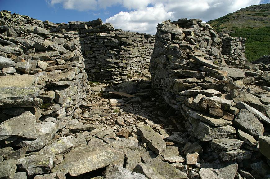 Фортифікаційні споруди в Горганських горах
