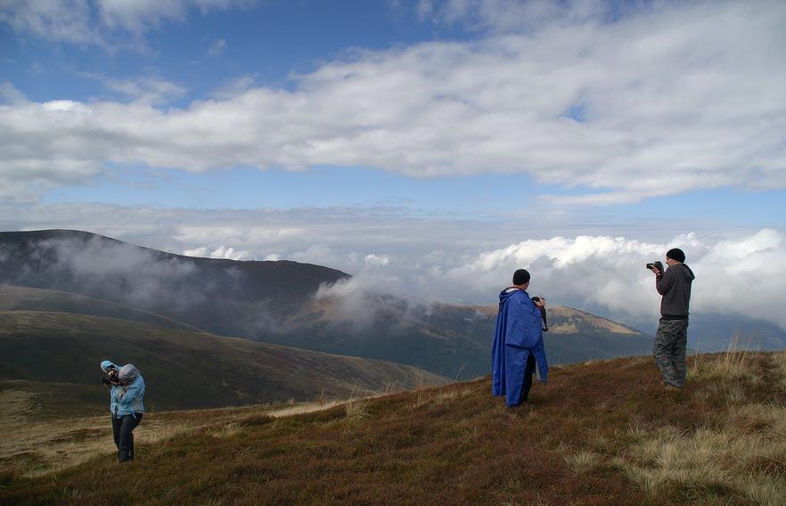 На вершині г. Гемба - 1491 м над р.м.