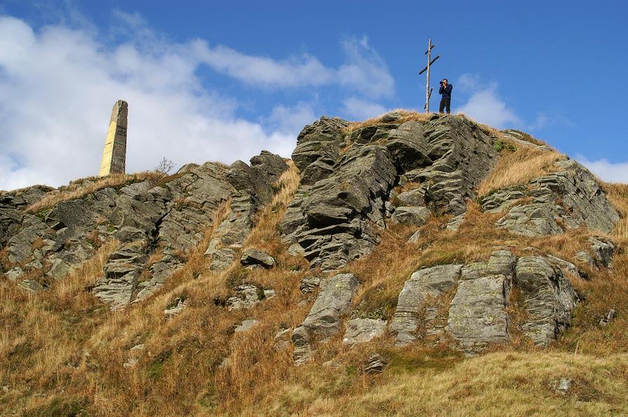 На вершині гори Пікуй - 1406 м над р.м.