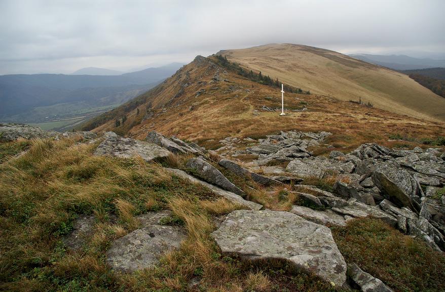 Перевал Руський Шлях - 1217 м над р.м.