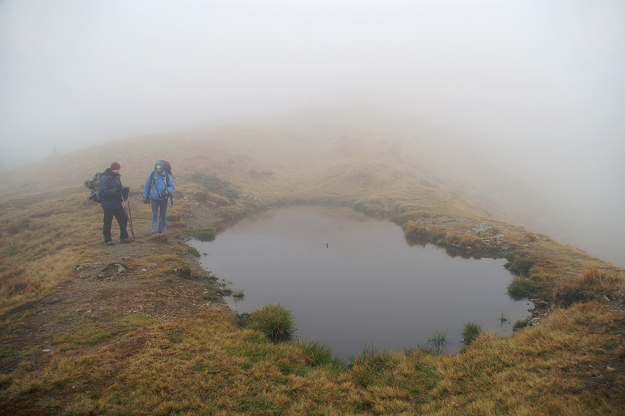 Озеро на хребті між г. Стримба і г. Стреминіс