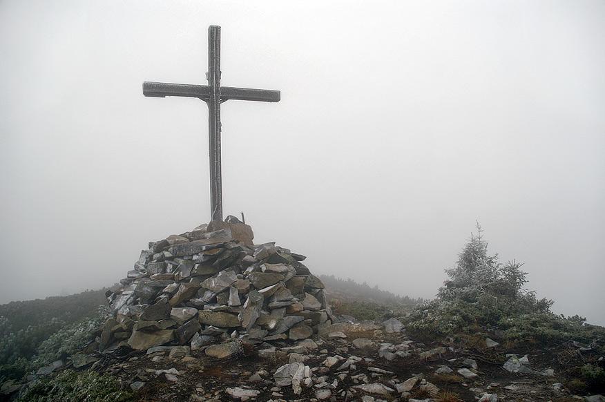 На вершині г. Стримба - 1719 м над р.м.