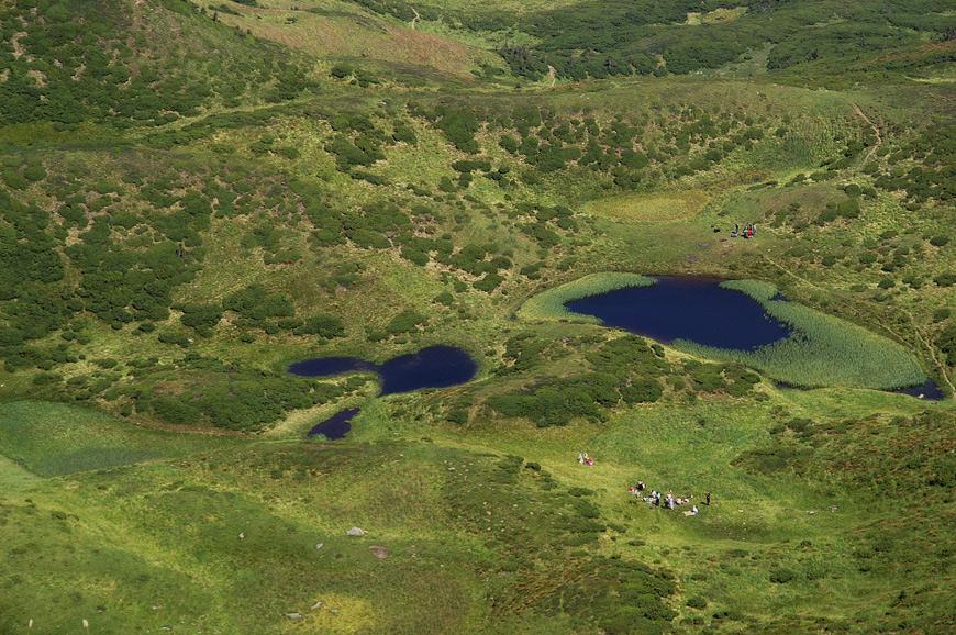 Озеро Івор (Драгобратське) - 1600 м над р.м.