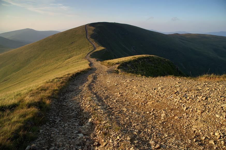 Передвершина гори Догяска