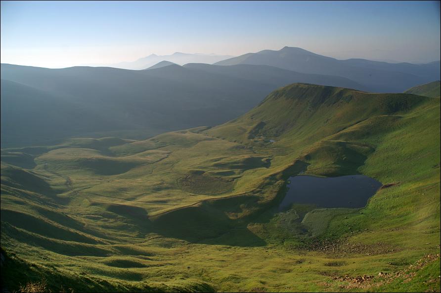 Озеро Герешаска - 1577 м над р.м.