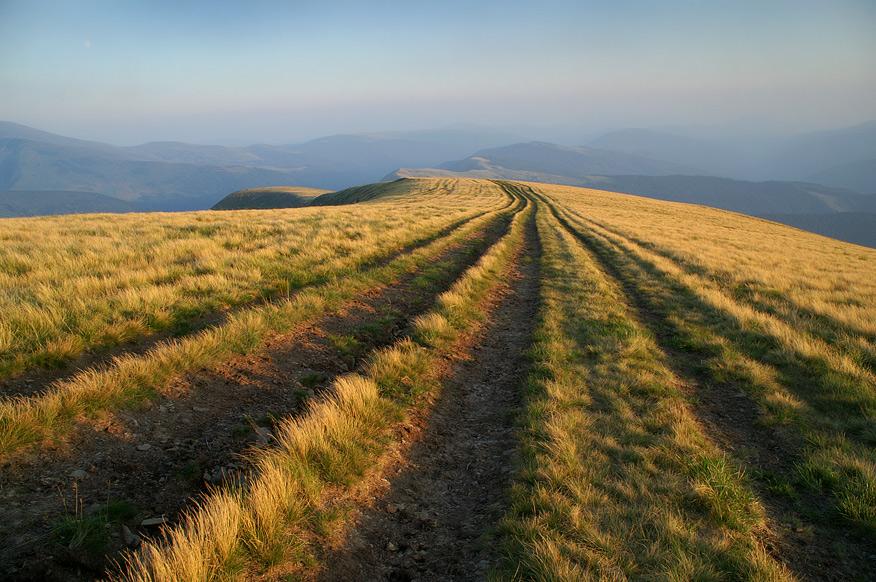 На вершині гори Догяска - 1762 м над р.м.