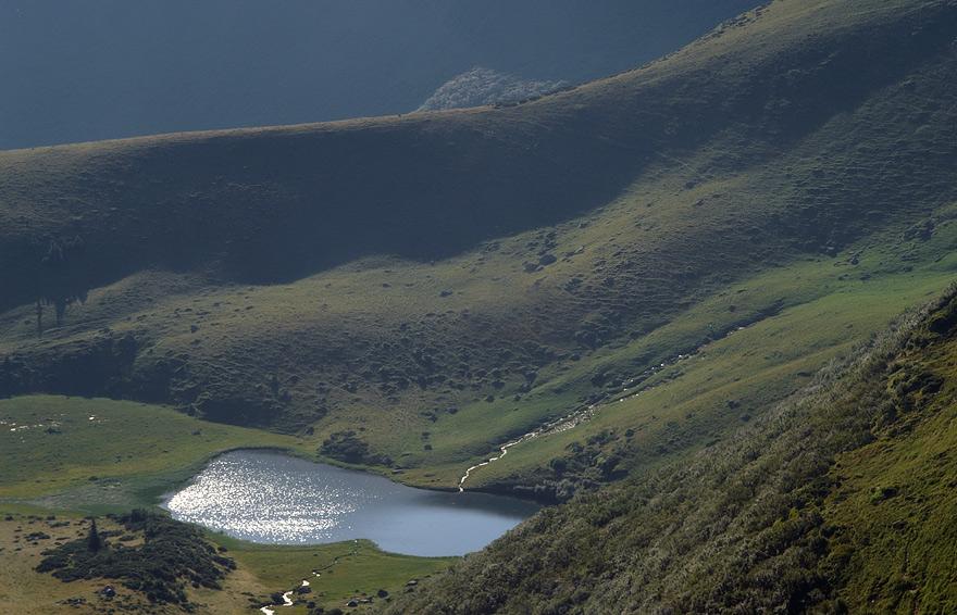 Озеро Апшинець - 1487 м над р.м.