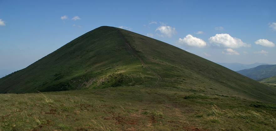 Гора Стіг - 1704 м над р.м.