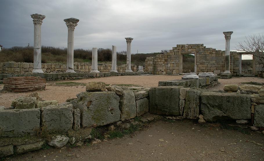 Християнський храм (Базиліка) VI-X ст. в Херсонесі