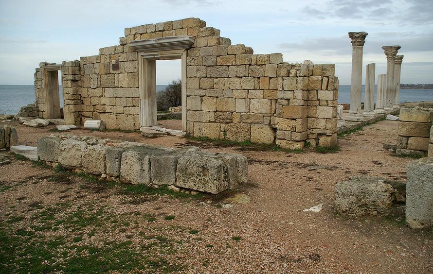 Залишки середньовічного християнського храму