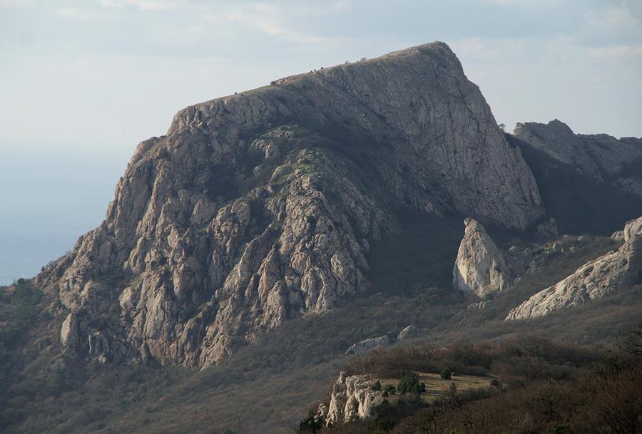 Гора Ильяс-Кая - 682 м над р.м.