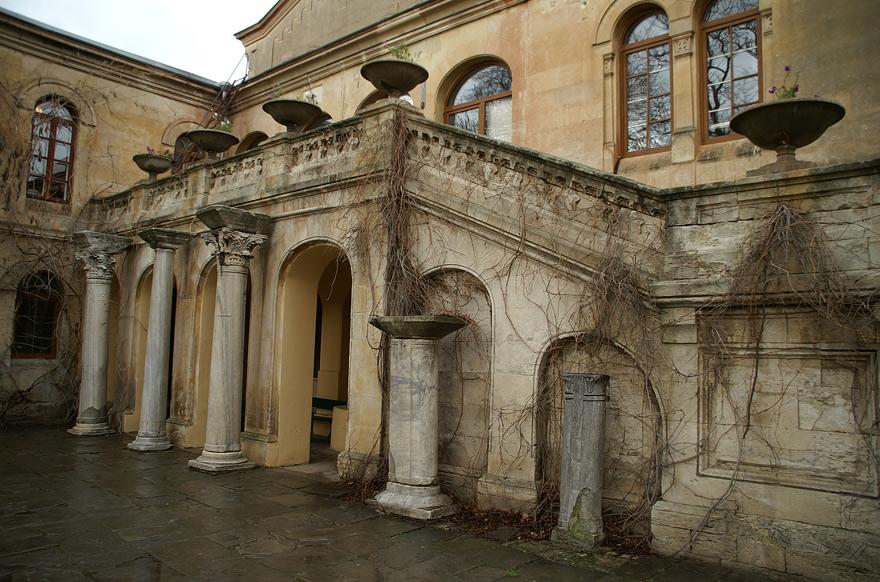 Середньовічний відділ музею в Херсонесі