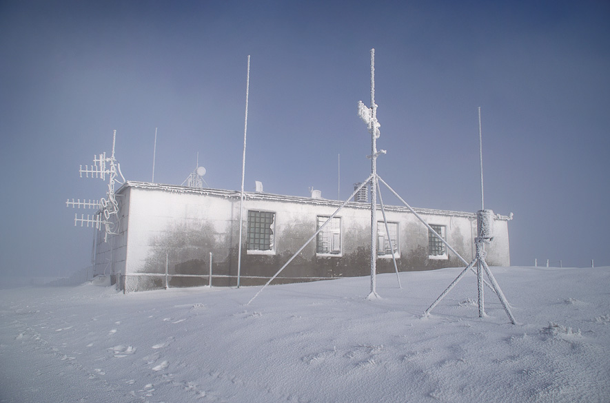 """Сніголавинна станція """"Плай"""" (1330 м над р.м.)"""