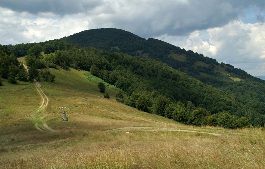 Перевал Прислоп - 937 м над р.м.