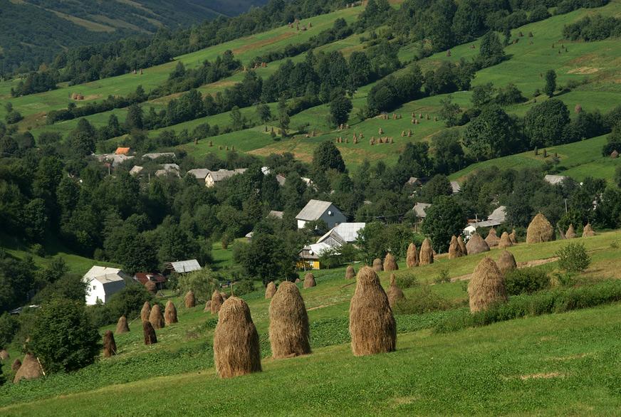 Околиці села Тюшка