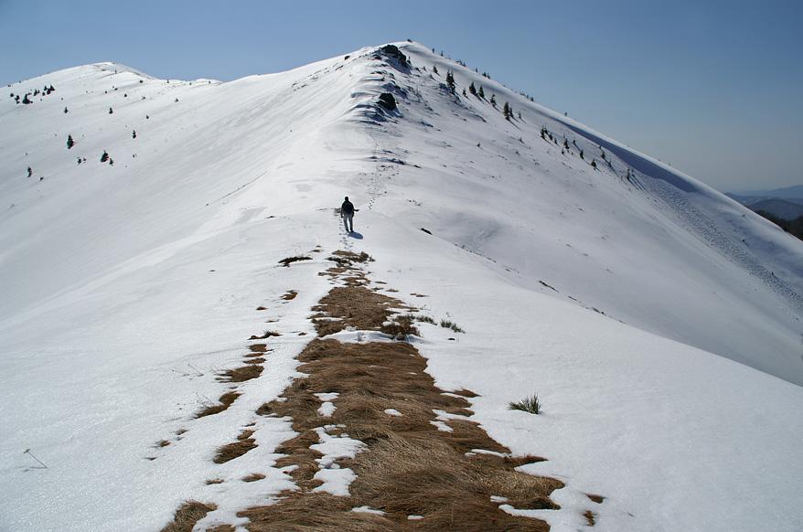 Підйом на передвершину гори Темнатик