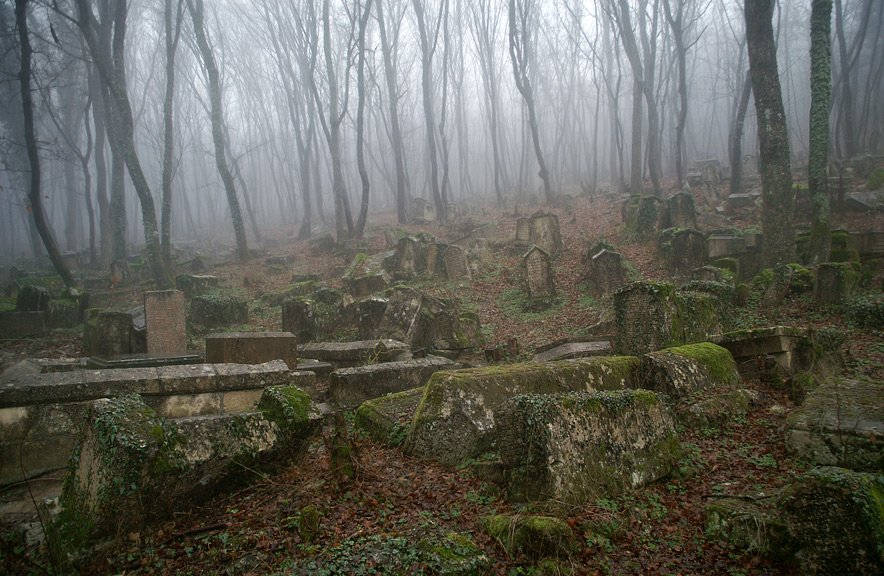 Балта-Тиймез - караїмське кладовище в Криму