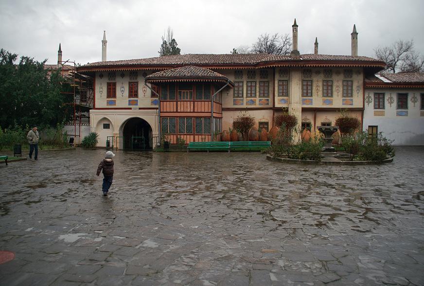 Палацова площа - композиційний центр ханської резиденції