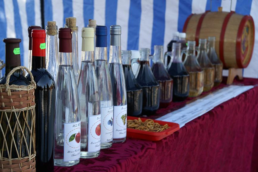Паленка і вино