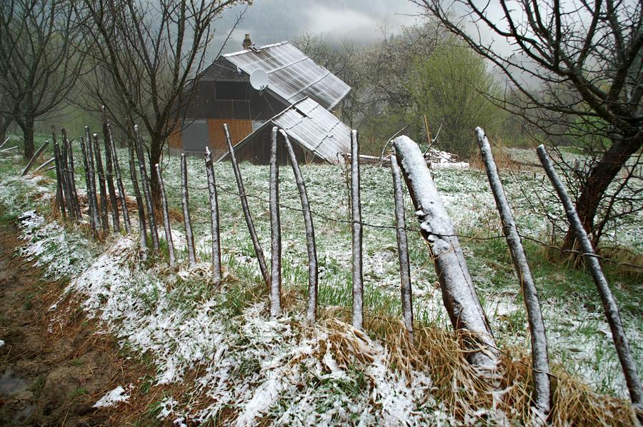 Весна на хуторі Затинь