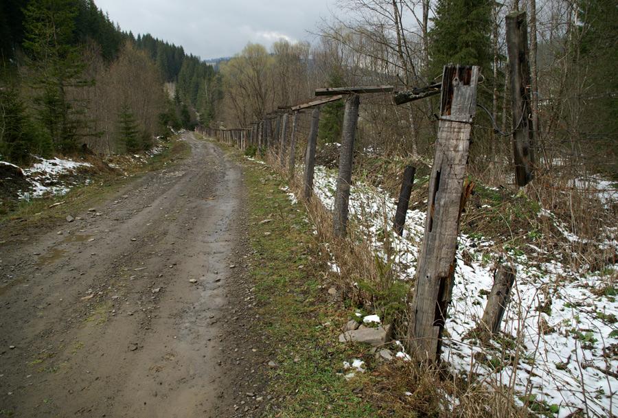 Дорога на гору Томнатик