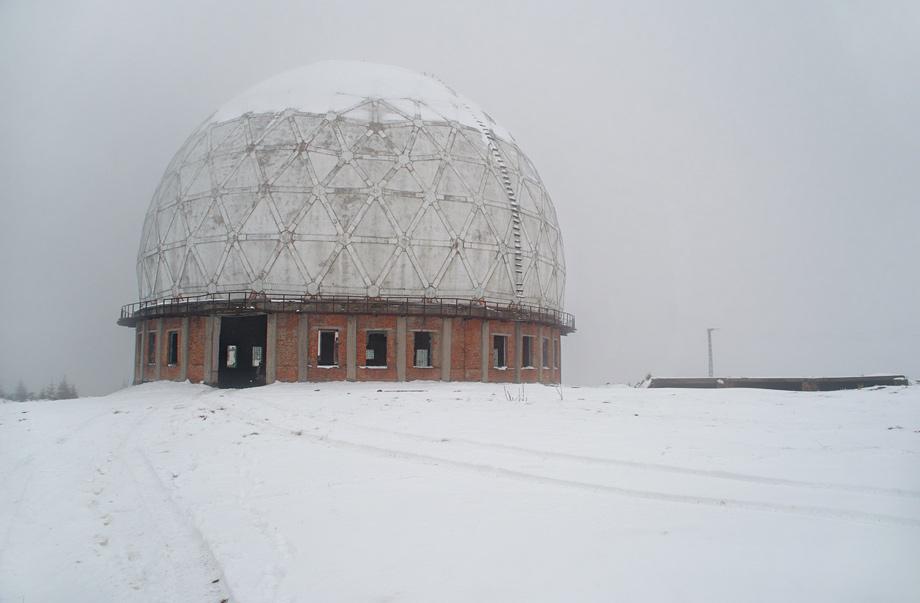 """Захисний радіопрозорий купол для РЛС """"П-14"""""""