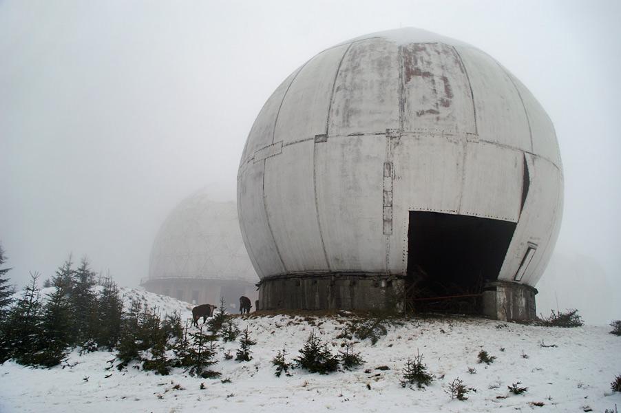 Залишки радіолокаційних захисних споруд