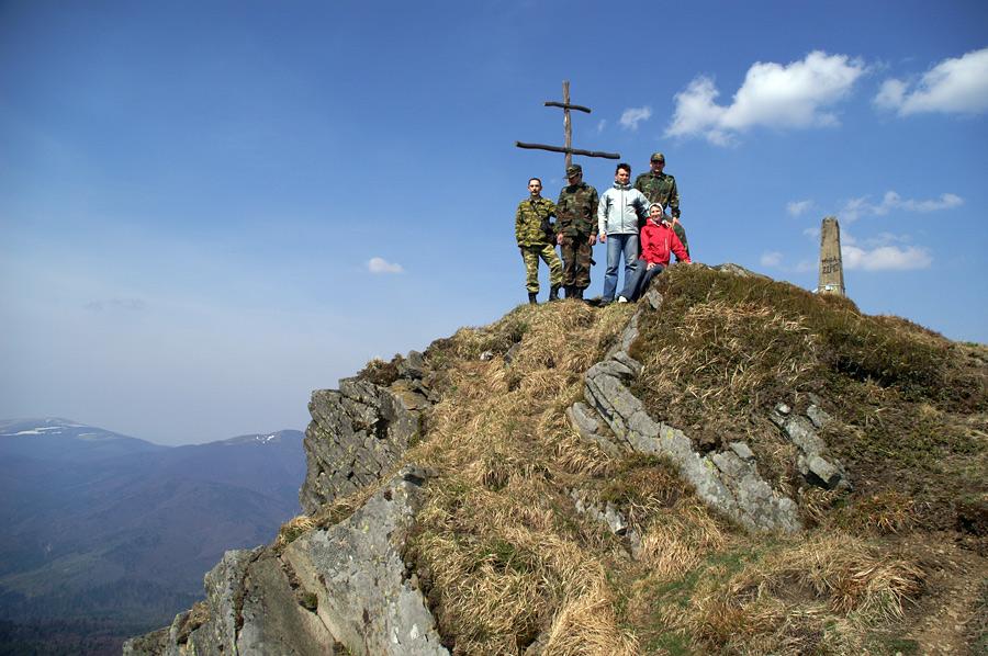 На вершине горы Пикуй - 1408 м над у.м.