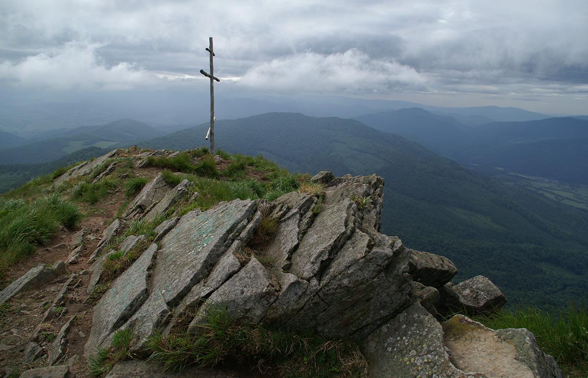 На вершині гори Пікуй - 1408 м над р.м.