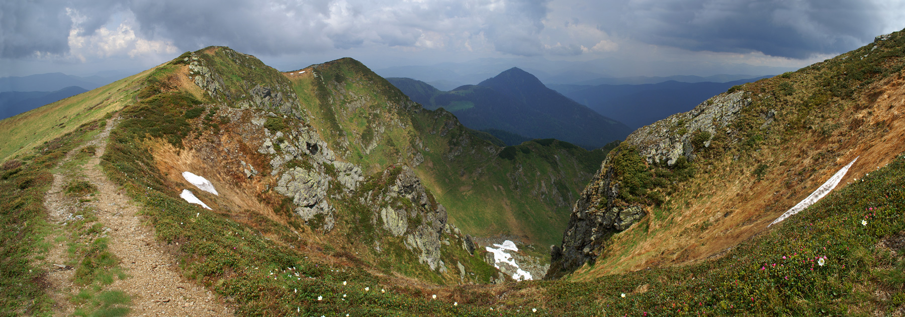 Гуцульські Альпи - Мармароський масив