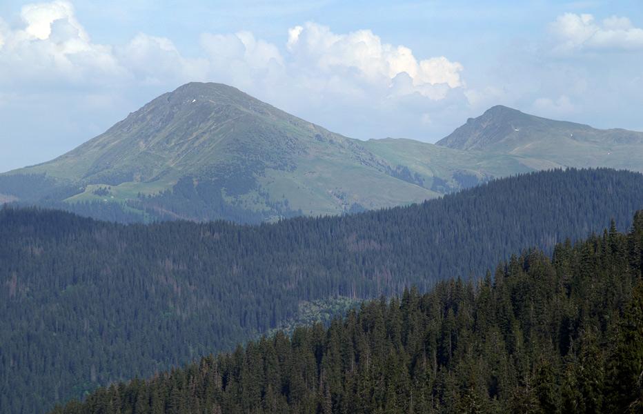 Румунські гори. Феркеу і Михайлек