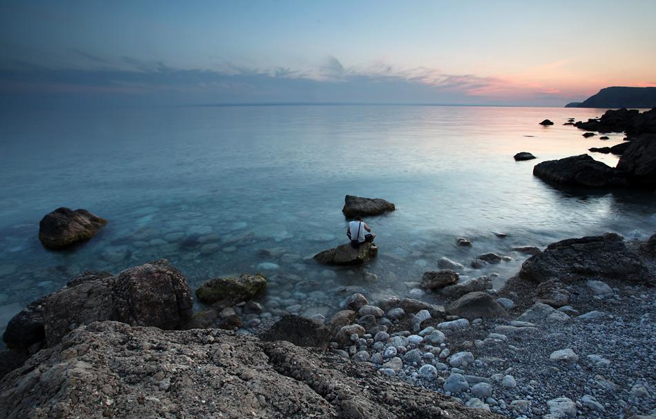 Чорне море. Пляж Інжир