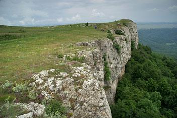 Кримські гори - ніс Тирке