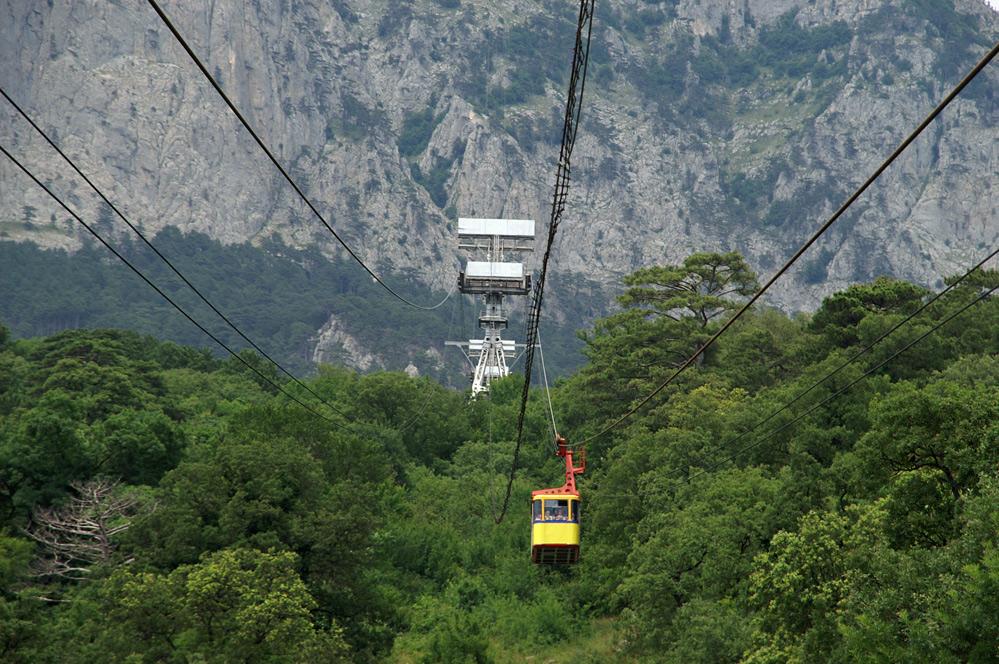 Довжина канатної дороги  3220 м