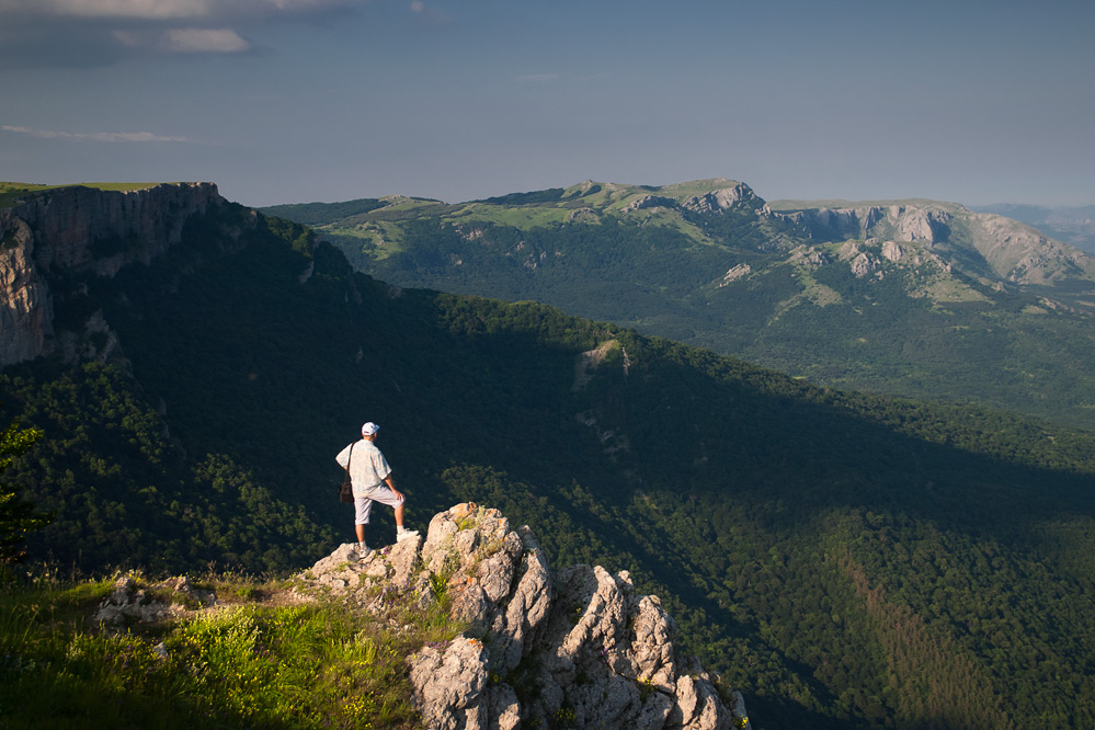 У верхів'ях Хапхала поблизу гори Хапхал-Баш