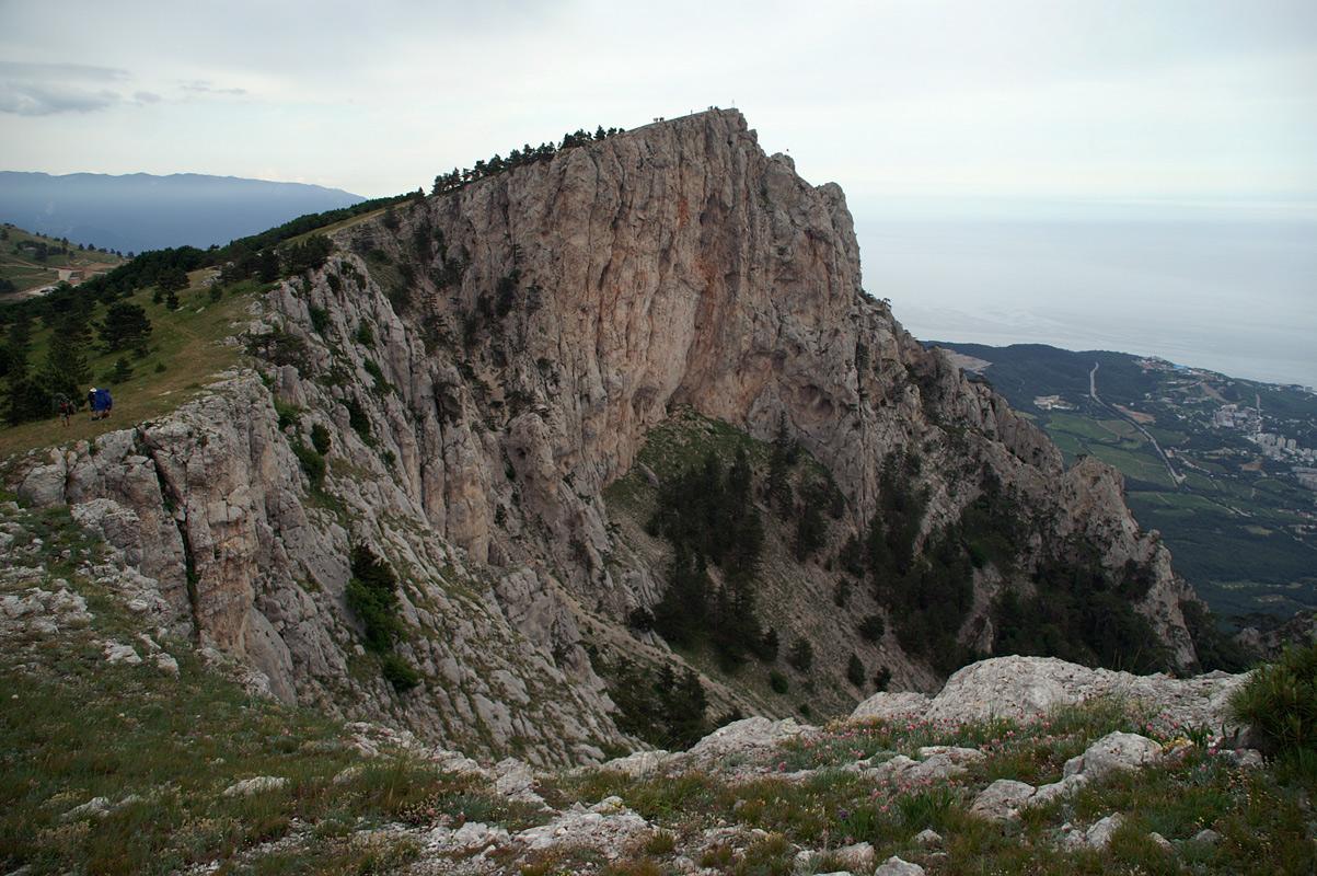 Крим. Гора Ай-Петрі - 1234 м над р.м.